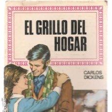 Tebeos: HISTORIAS INFANTILES. Nº 33. EL GRILLO DEL HOGAR. CARLOS DICKENS. BRUGUERA 1ª EDC. 1960 (ST/). Lote 98211523