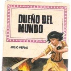 Tebeos: HISTORIAS INFANTILES. Nº 34. DUEÑO DEL MUNDO. JULIO VERNE. BRUGUERA 1ª EDC. 1960 (ST/). Lote 98211639