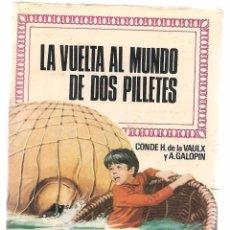 Tebeos: HISTORIAS INFANTILES. Nº 38. LA VUELTA AL MUNDO DE DOS PILLETES. BRUGUERA. 1ª EDC. 1969 (ST/). Lote 98211895