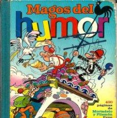Tebeos: MAGOS DEL HUMOR XVI - MORTADELO Y FILEMON, PEPE GOTERA, SACARINO - BRUGUERA 1973 1ª EDICION, 400 PAG. Lote 98228711