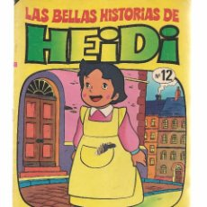 Tebeos: LAS BELLAS HISTORIAS DE HEIDI. Nº 12. HEIDI SE PIERDE. BRUGUERA 1975.(B/59). Lote 98366307