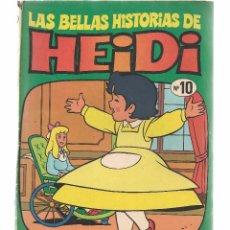 Tebeos: LAS BELLAS HISTORIAS DE HEIDI. Nº 10. HEIDI EN FRANCFORT. BRUGUERA 1975.(B/59). Lote 98366567