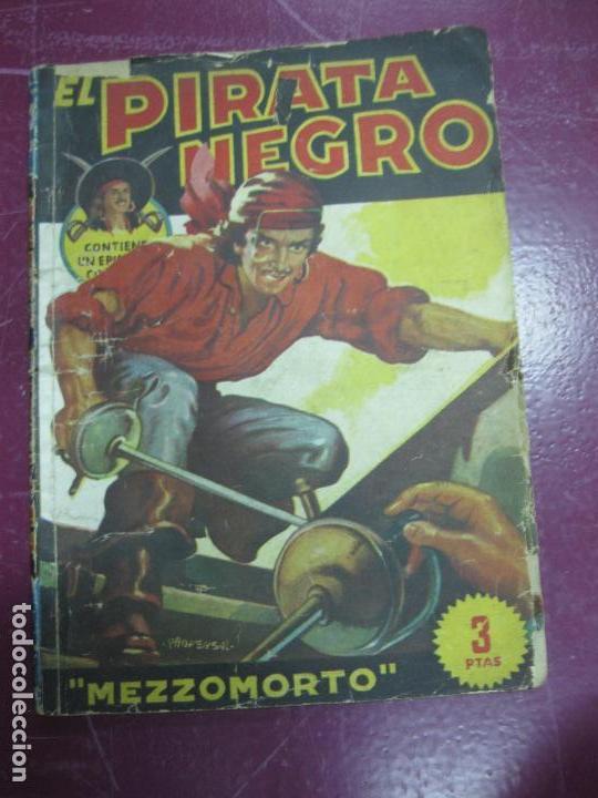 EL PIRATA NEGRO. Nº 24. MEZZOMORTO. BRUGUERA (Tebeos y Comics - Bruguera - Otros)