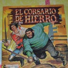 Tebeos: EL CORSARIO DE HIERRO EDICION HISTORICA - SELECCION 2 (NUMEROS 5 AL 8). Lote 98621491