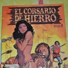 Tebeos: EL CORSARIO DE HIERRO EDICION HISTORICA - SELECCION 3 (NUMEROS 9 AL 12). Lote 98621563