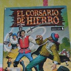 Tebeos: EL CORSARIO DE HIERRO EDICION HISTORICA - SELECCION 4 (NUMEROS 13 AL 16). Lote 98621611
