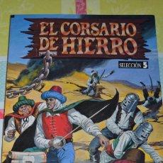 Tebeos: EL CORSARIO DE HIERRO EDICION HISTORICA - SELECCION 5 (NUMEROS 17 AL 20). Lote 98621687