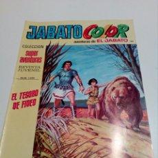 Tebeos: JABATO COLOR. PRIMERA ÉPOCA N°188. 10 PTS. EL TESORO DE FIDEO.. Lote 98659600
