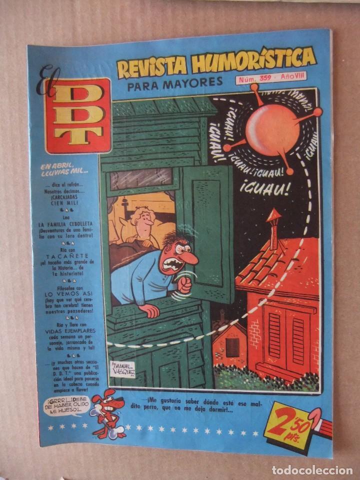 EL D.D.T.REVISTA HUMORISTICA PARA MAYORES Nº 359 EDITORIAL BRUGUERA (Tebeos y Comics - Bruguera - DDT)