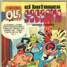 Tebeos: OLE Nº 68 1ª EDICION 1973 DE 40 PTS. MUY NUEVO, EL BOTONES SACARINO. Lote 98892095