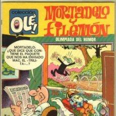 Tebeos: OLE Nº 94 1ª EDICIÓN DE 40 PTS - 1974 - COMO NUEVO - MORTADELO Y FILEMON. Lote 98892459