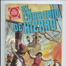 Tebeos: EL CORSARIO DE HIERRO Nº 2. JOYAS LITERARIAS JUVENILES. BRUGUERA. 1978 (REEDICION 1980 ). Lote 98973603