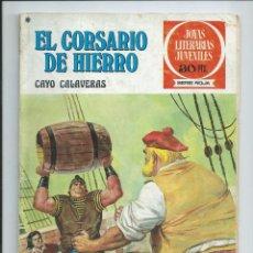 Tebeos: EL CORSARIO DE HIERRO Nº 33. JOYAS LITERARIAS JUVENILES. BRUGUERA. 1978. Lote 98973851