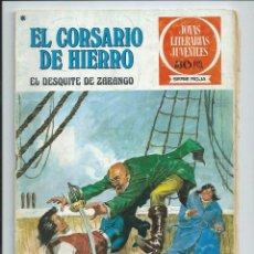 Tebeos: EL CORSARIO DE HIERRO Nº 34. JOYAS LITERARIAS JUVENILES. BRUGUERA. 1978. Lote 98973979