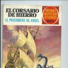 Tebeos: EL CORSARIO DE HIERRO Nº 19. GRANDES AVENTURAS JUVENILES. BRUGUERA. 1972. Lote 98974263