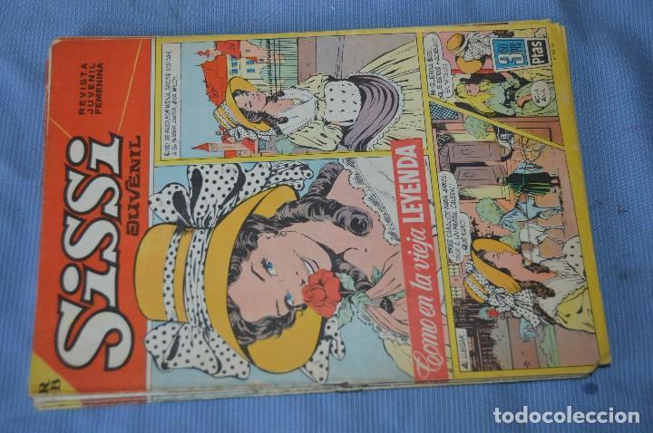 Tebeos: SISSI Juvenil - Lote, 10 revistas, tebeos, comics, AÑOS 60, ¡Mira! - HAZ OFERTA - Foto 2 - 99138519