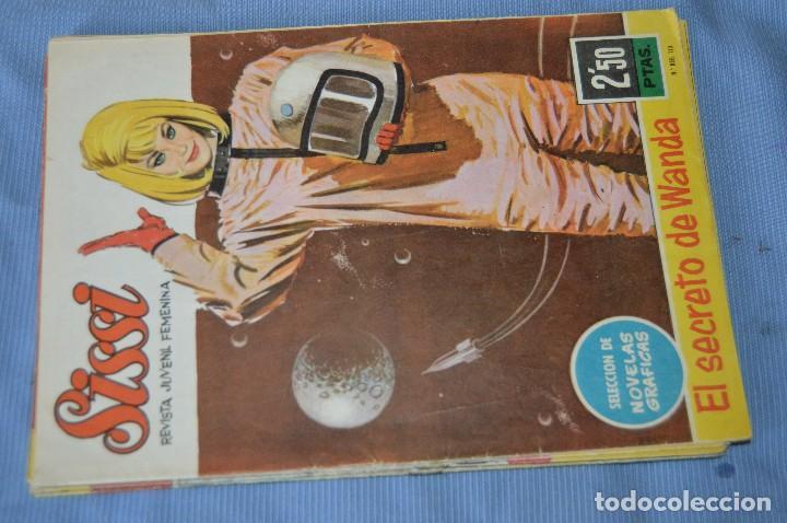 Tebeos: SISSI Juvenil - Lote, 10 revistas, tebeos, comics, AÑOS 60, ¡Mira! - HAZ OFERTA - Foto 4 - 99138519
