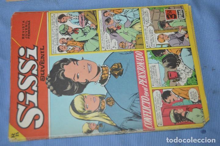 Tebeos: SISSI Juvenil - Lote, 10 revistas, tebeos, comics, AÑOS 60, ¡Mira! - HAZ OFERTA - Foto 5 - 99138519
