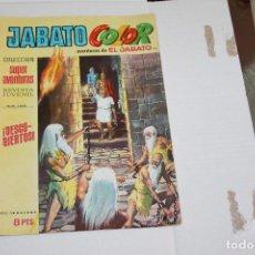Tebeos: JABATO COLOR Nº 110, COLECCIÓN SUPER AVENTURAS, 8 PTAS, EDITORIAL BRUGUERA. Lote 99229971