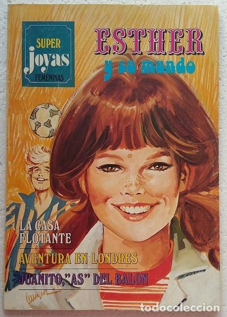 SUPER JOYAS FEMENINAS. ESTHER Y SU MUNDO Nº14. EDITORIAL BRUGUERA 1979 (Tebeos y Comics - Bruguera - Joyas Literarias)