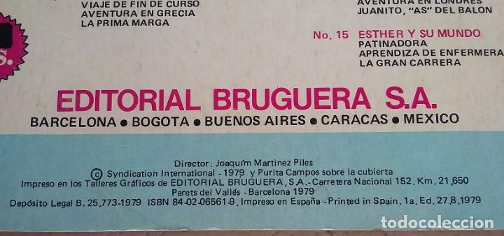 Tebeos: Super Joyas Femeninas. Esther y su Mundo nº14. Editorial Bruguera 1979 - Foto 3 - 99285739
