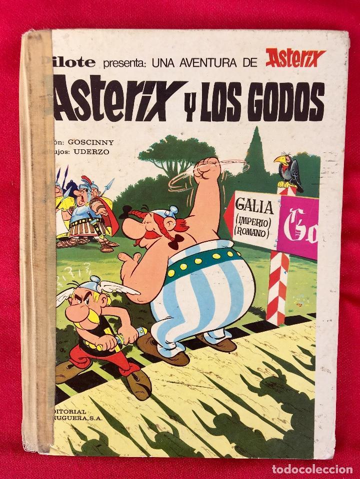 ASTERIX Y LOS GODOS 1973 PRIMERA EDICIÓN PILOTE PRESENTA UNA AVENTURA DE ASTERIX OBELIX (Tebeos y Comics - Bruguera - Otros)