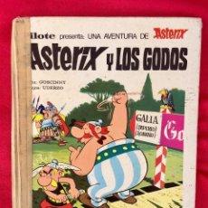 Tebeos: ASTERIX Y LOS GODOS 1973 PRIMERA EDICIÓN PILOTE PRESENTA UNA AVENTURA DE ASTERIX OBELIX. Lote 99290119