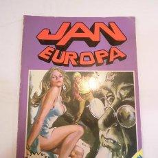 Tebeos: JAN EUROPA RETAPADO - NUM 6 AL 10 - ED. BRUGUERA- 1985. Lote 99326776