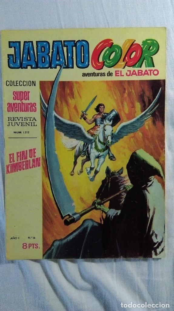 JABATO COLOR PRIMERA EPOCA Nº 16 (Tebeos y Comics - Bruguera - Jabato)