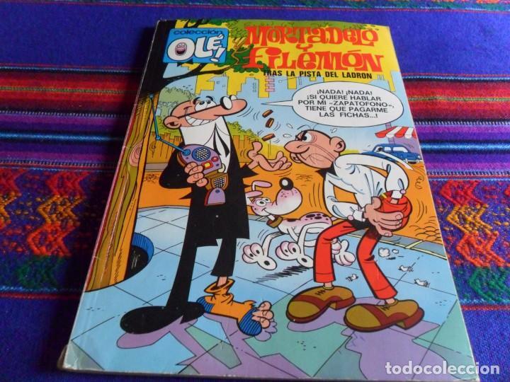 OLÉ Nº 71 MORTADELO CON Nº EN LOMO. BRUGUERA 1973 1ª PRIMERA EDICIÓN. 40 PTS. BE. (Tebeos y Comics - Bruguera - Ole)