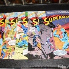 Tebeos: LOTE DE 5 COMICS SUPERMAN NOS 1A 5 - SUPER-ACCION - COMICS BRUGUERA 1979. Lote 99382027