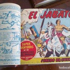 Tebeos: EL JABATO - 50 TEBEOS ORIGINALES ENCUADERNADOS (TOMO COMPLETO DEL 1 AL 50). Lote 99414047