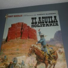 Tebeos: TENIENTE BLUEBERRY EL ÁGUILA SOLITARIA EDITORIAL BRUGUERA. Lote 99529036