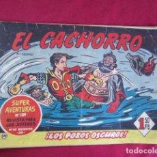 Tebeos: EL CACHORRO - LOS POZOS OSCUROS. Lote 99672143