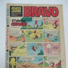 Tebeos: REVISTA BRAVO Nº 44 - EDITORIAL BRUGUERA - 5 PTAS - AÑO 1968. Lote 99705603