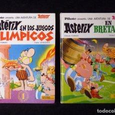Tebeos: LOTE 2 TOMOS COLECCION PILOTE, ASTÉRIX. BRUGUERA, 1968-69. Lote 99719675