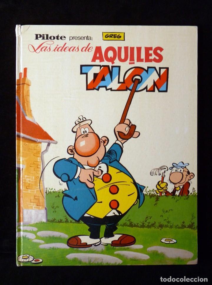 LAS IDEAS DE AQUILES TALON. PILOTE, GREG. BRUGUERA, 1968 (Tebeos y Comics - Bruguera - Otros)