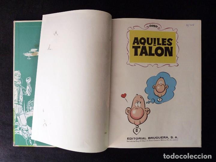 Tebeos: LAS IDEAS DE AQUILES TALON. PILOTE, GREG. BRUGUERA, 1968 - Foto 2 - 99719907