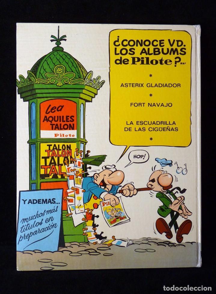 Tebeos: LAS IDEAS DE AQUILES TALON. PILOTE, GREG. BRUGUERA, 1968 - Foto 4 - 99719907