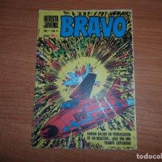 Tebeos: BRAVO Nº 21 ORIGINAL EDITORIAL BRUGUERA. Lote 99826743
