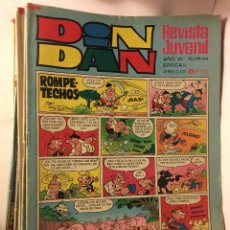 COMIC TEBEO AÑOS 70/80 BRUGUERA DIN DAN ROMPETECHOS 164