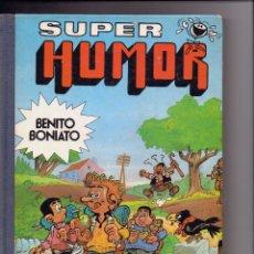 Tebeos: SUPER HUMOR BENITO BONIATO Nº 2 BRUGUERA 1ª EDICION ENERO DE 1985. Lote 99894783