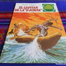 Tebeos: NUEVO. JOYAS LITERARIAS JUVENILES Nº 240 EL CAPITÁN DE LA D'JUMNA. BRUGUERA 1981. 55 PTS.. Lote 99972167