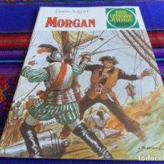 Tebeos: NUEVO. JOYAS LITERARIAS JUVENILES Nº 242 MORGAN. BRUGUERA 1981. 55 PTS.. Lote 99972607
