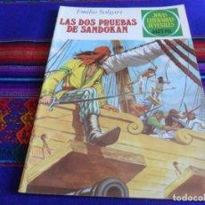 BDs: NUEVO. JOYAS LITERARIAS JUVENILES Nº 207 LAS DOS PRUEBAS DE SANDOKAN. BRUGUERA 1979. 35 PTS.. Lote 99979531