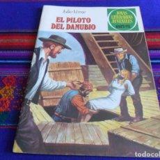 BDs: COMO NUEVO. JOYAS LITERARIAS JUVENILES Nº 213 EL PILOTO DEL DANUBIO. BRUGUERA 1979. 35 PTS.. Lote 99979827