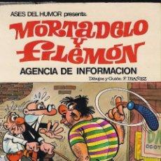 Tebeos: ASES DEL HUMOR Nº8 - MORTADELO Y FILEMON: AGENCIA DE INFORMACION - BRUGUERA, 2ª ED. 1979.. Lote 99981251