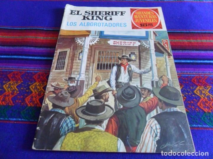 EL SHERIFF KING Nº 36 LOS ALBOROTADORES. BRUGUERA 1972. REGALO LA HONDONADA DE LOS ESPECTROS Nº 48. (Tebeos y Comics - Bruguera - Sheriff King)
