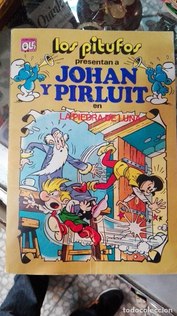 OLE LOS PITUFOS PRESENTAN A JOHAN Y PIRLUIT (Tebeos y Comics - Bruguera - Ole)
