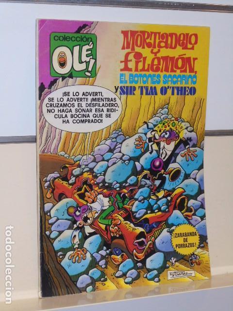 COLECCION OLE Nº 170 MORTADELO Y FILEMON EL BOTONES SACARINO Y SIR TIM O'THEO - BRUGUERA (Tebeos y Comics - Bruguera - Ole)